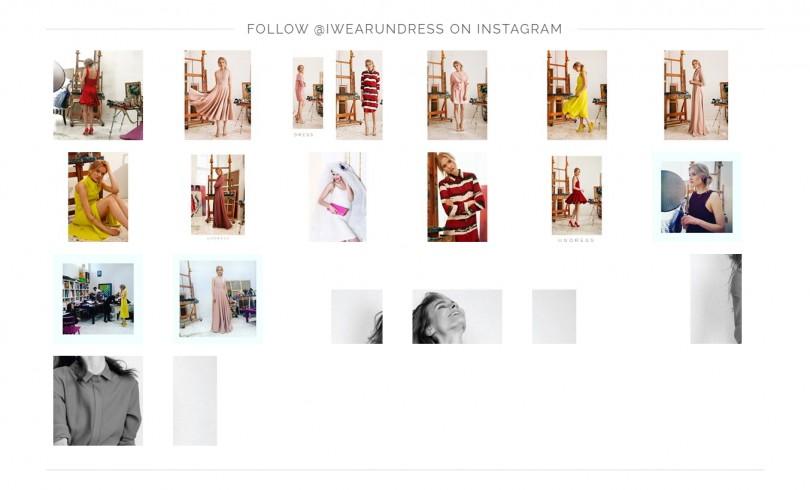 Interneto parduotuvės prekiaujančios drabužiais dizainas